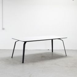 Table Float | Blanc Stratifié