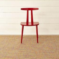 Floor Mat Mini Basketweave Woven 59 x 92 cm | Confetti