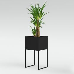 Flowerpot Large | Dark Grey