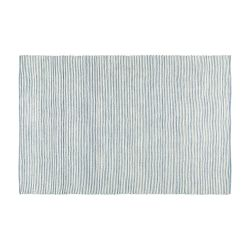 Teppich Flynn 230 x 160 cm | Blau & Creme