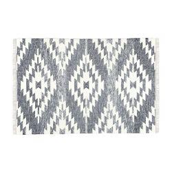 Rug Flynn 230 x 160 cm | Dark Grey & Cream