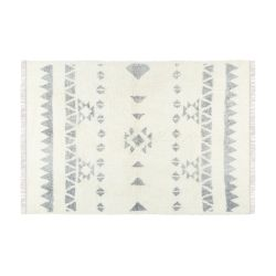 Teppich Flynn 230 x 160 cm | Grau & Creme