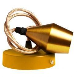Câble pour Ampoule Chandelier | Or