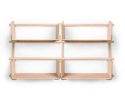 Rack Foldin 2x3 + 4 Shelves
