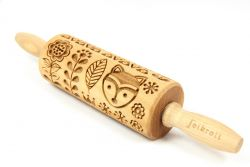 Engraved Rolling Pin | Finnish Folk