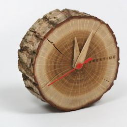 Table Clock Forestime | Wood