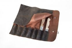 Leather Knife Pouch 7 Pockets