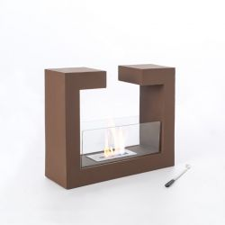 Fireplace Tête à Tête | Rust