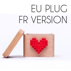 Lovebox to Send Messages | France Version, EU Plug
