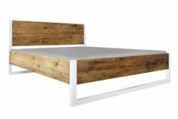 Bed Verdon White | Pine Wood