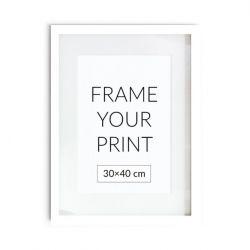 Holzrahmen für Poster | Weiß