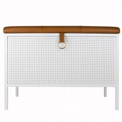 Storage Bench Frank | White