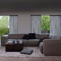 Corner Sofa Fresno Vasto 2345 | Carbon Grey