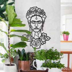 Wanddekoration Frida Kahlo XL