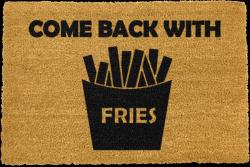 Fußmatte kommt mit Pommes Frites zurück