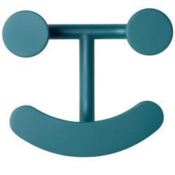 Wandhaak Happy Hook | Turquoise