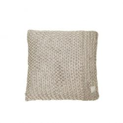 Native Knit Cushion | Seashell Dark