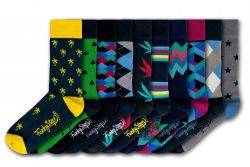 Men Socks FSA295 | Set of 10