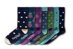 Women Socks FSA302 | Set of 7 Pair