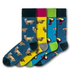 Men Socks FSB033N | Set of 4