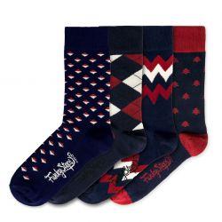 Men Socks FSB124 | Set of 4