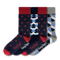 Men Socks FSB127 | Set of 4