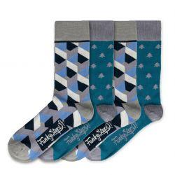 Men Socks FSB128 | Set of 4