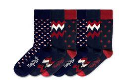 Men Socks FSB129 | Set of 6