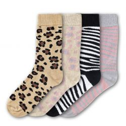 Woman Socks FSB173 | Set of 4