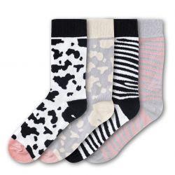 Woman Socks FSB175 | Set of 4