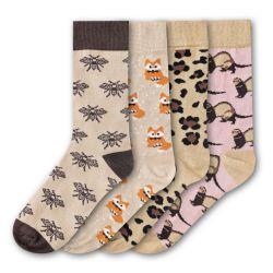 Woman Socks FSB192 | Set of 4