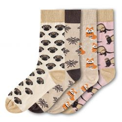 Woman Socks FSB193 | Set of 4