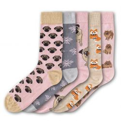 Woman Socks FSB195 | Set of 5