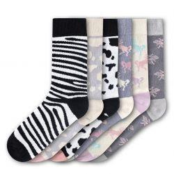Woman Socks FSB199 | Set of 6