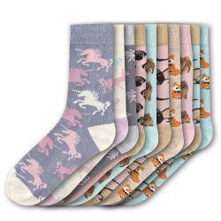 Woman Socks FSB200 | Set of 10