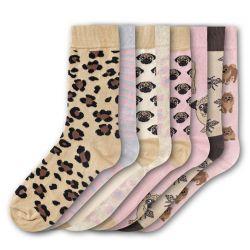 Woman Socks FSB201 | Set of 8