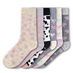 Woman Socks FSB205 | Set of 6