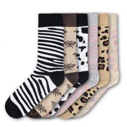 Woman Socks FSB206 | Set of 6