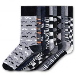 Men Socks FSB269 | Set of 10