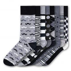 Men Socks FSB270 | Set of 8