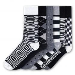 Men Socks FSB271 | Set of 6