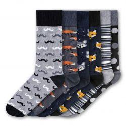 Men Socks FSB278 | Set of 6
