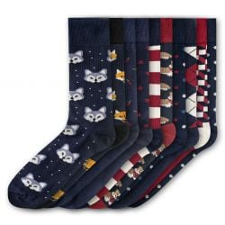 Men Socks FSB281 | Set of 10