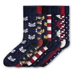 Men Socks FSB282 | Set of 8