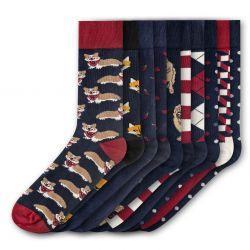 Men Socks FSB284 | Set of 10