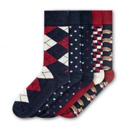 Men Socks FSB286 | Set of 5