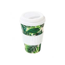 Eco Mug Tropical Fiesta | Palm Print