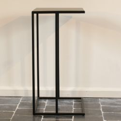 Table d'Appoint Métal 50 x 35 x 70 cm