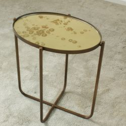 Side Table Antique with Mirror