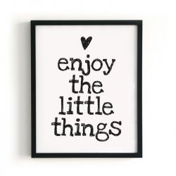 Poster | Enjoy The Little Things